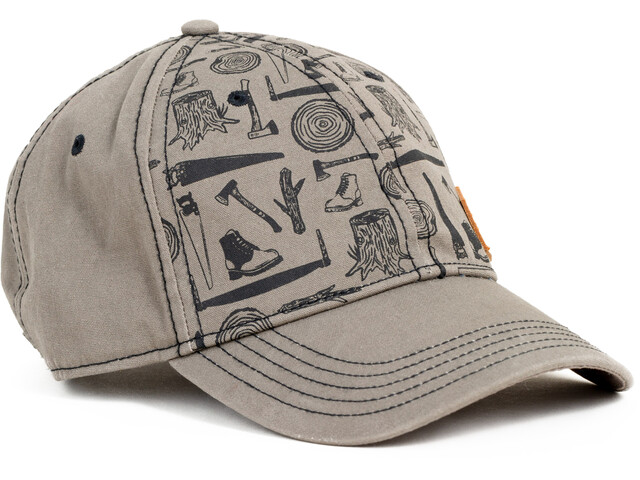 United By Blue Logger Baseball Hat Earth Brown